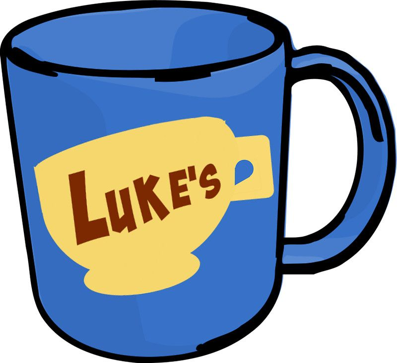 luke's diner gilmore laptop decal sticker; Redbubble stickers buy 6 get 50%  off