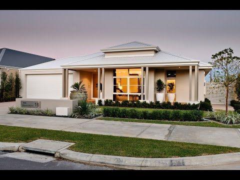 Kayana New Home Designs Contemporary Builder Dale Alcock Homes Youtube House Design Modern House Design Facade House