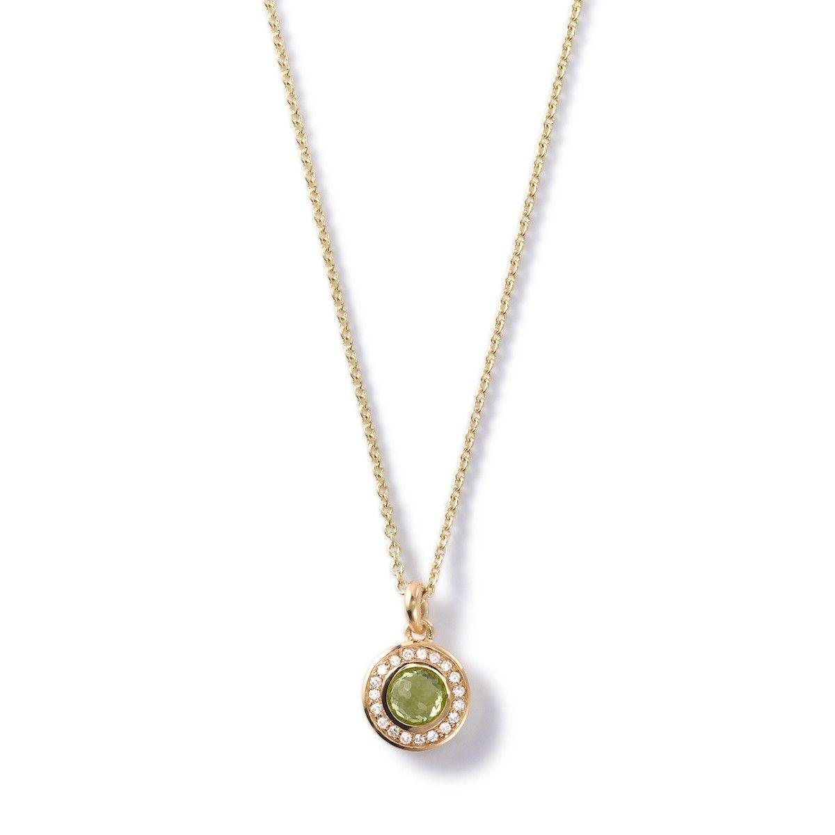Lollipop® 18K Gold Mini Pendant Necklace with Diamonds