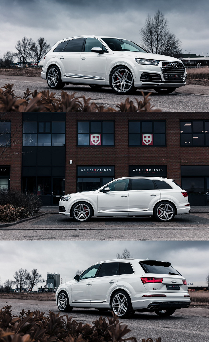 Audi Q7 Goes In Style Wearing Vossen Rims