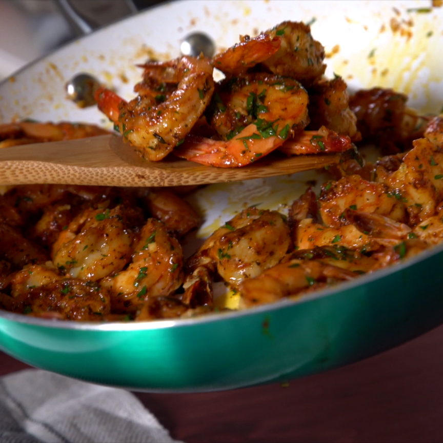 Cajun Shrimp Scampi Rice