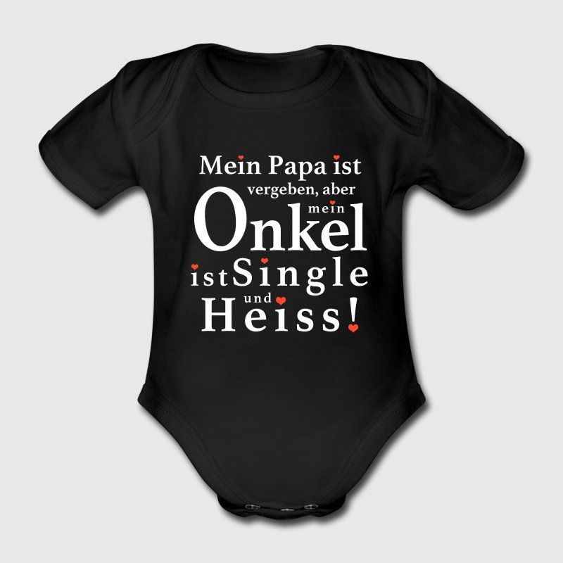 Babybody Spruch Kurzarm Junge Mädchen Strampler Lustig Hugs 5,00 €...