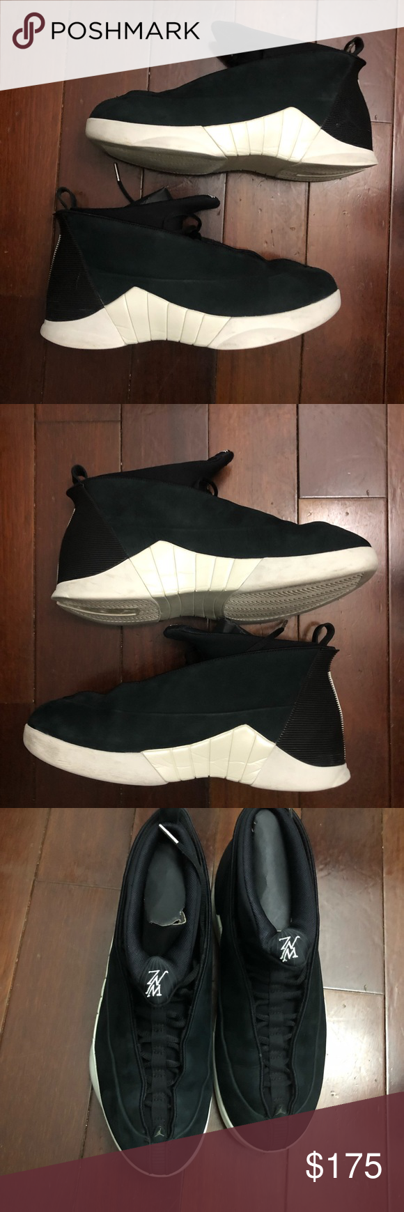 e0544fa38a4 Air Jordan 15 psny black size 11 Worn a few times Retails for $225 Comes  with dust bag Comes with original box Jordan Shoes Sneakers