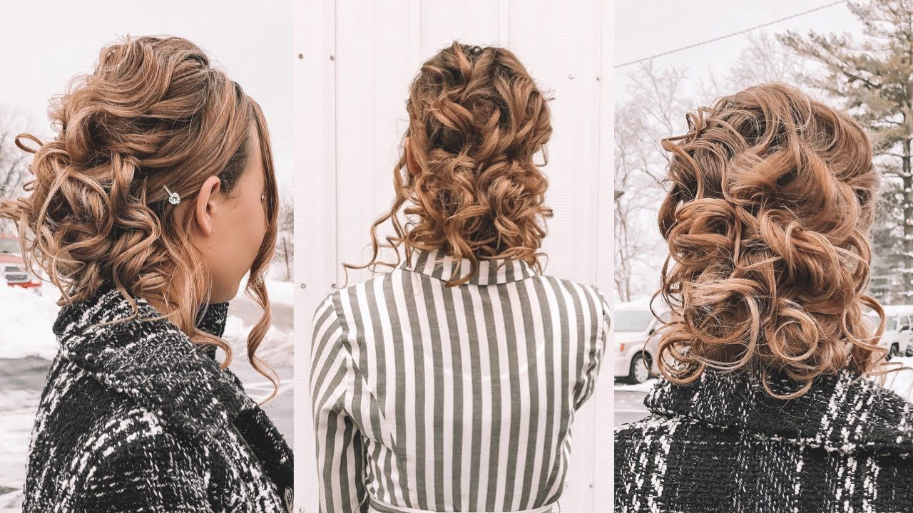 Special Occasion Hairstyle Church Prom Or Wedding Youtube Special Occasion Hairstyles Hair Styles Scene Hair