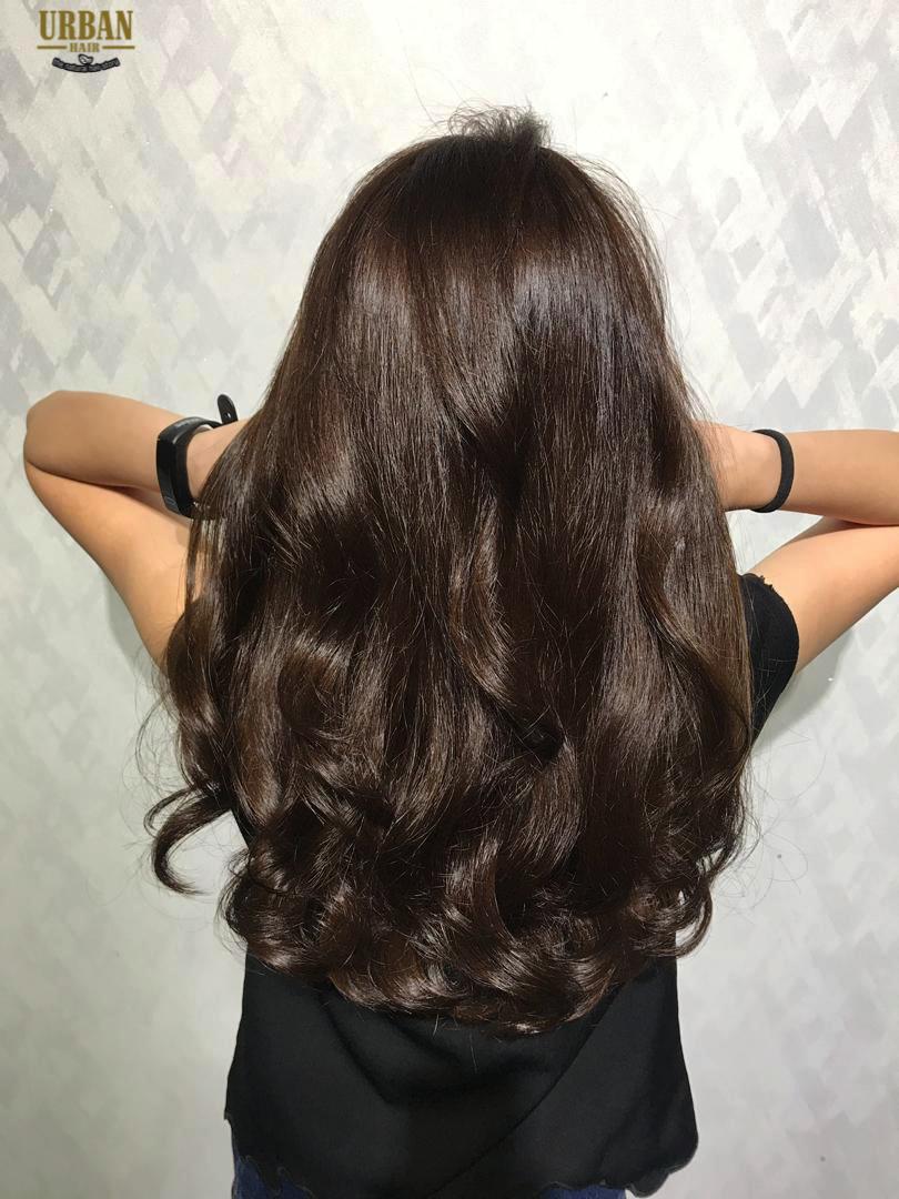 Korean Wave Digital Perm Digital Perm Permed Hairstyles Natural Hair Color