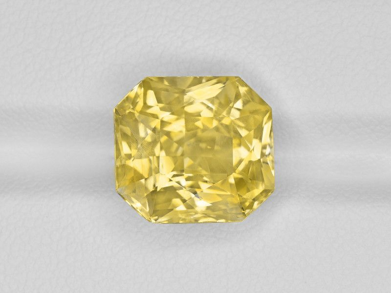 Yellow Sapphire 8 58ct Mined In Sri Lanka Certified By Grs With Images Yellow Sapphire Precious Gemstones Gem Rock Auctions