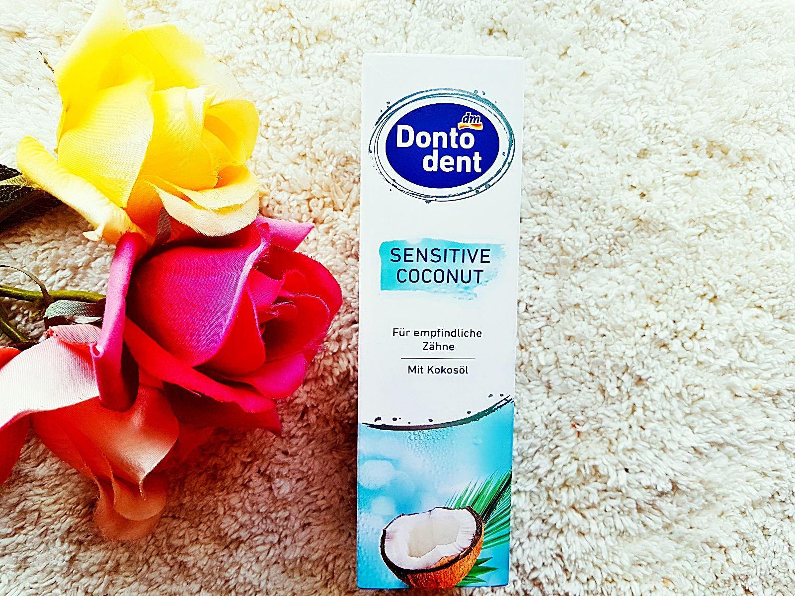 Dontodent Sensitive Coconut Zahnpasta