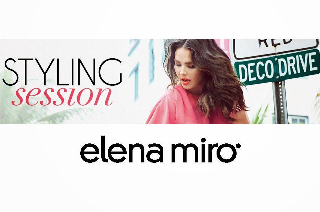 Donna, Mamma, Curvy...E tante idee per la testa!: ELENA MIRO' STYLING SESSION -  I negozi Elena Mirò... @elenamiro