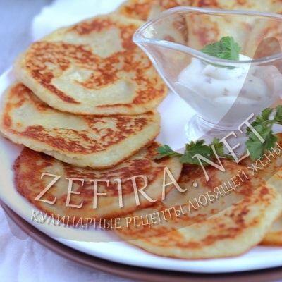 картофельные драники рецепт без яиц
