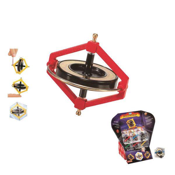 Sjovt gyroskop fra Navir - En snurretop der kan spinne og spinne uden at miste balance.Brug den medfølgende snor til at starte gyroskopet. Placer den derefter p