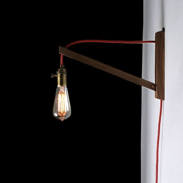 something for everything that changes everything: I took and used a construction cord with lightbulb and used a fishhook on the ceiling to hang it from--the light needed was SUPER hot though (it did have caging over the light too though)--I like this one! >> allied maker