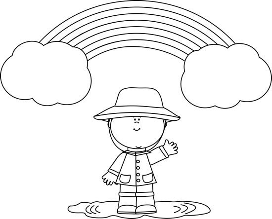 Black And White Little Boy And Rainbow Clip Art Black And White Space Party Decorations