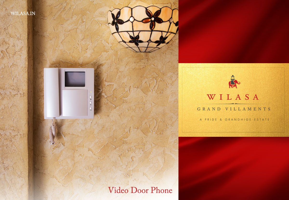 Security is Paramount Not only security guards at the gate and CCTV cameras across the campus, every home is equipped with a video door phone for an added layer of protection. http://bit.ly/1WYBaQW #Wilasa #GrandVillaments #LuxuryVillaments #KanakapuraRoad #Villaments #PrideGroup