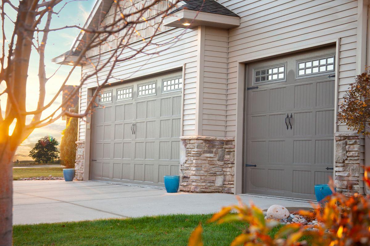 Midland Garage Door Short Panel Carriage Design Residential Garage Doors Garage Doors Carriage Doors