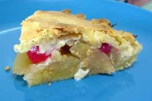 Tarta de manzana y piñones [Tarta de manzana y piñones]