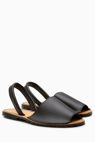 Black shoes are essential, whatever style you're looking for, so don't miss out on these sandals.
