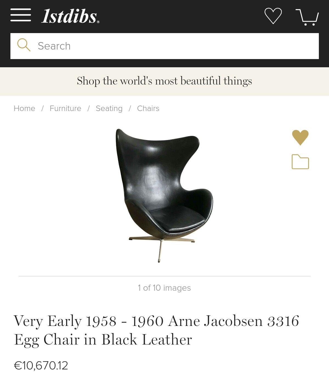 Arne Jacobsen's EGG 1960💘