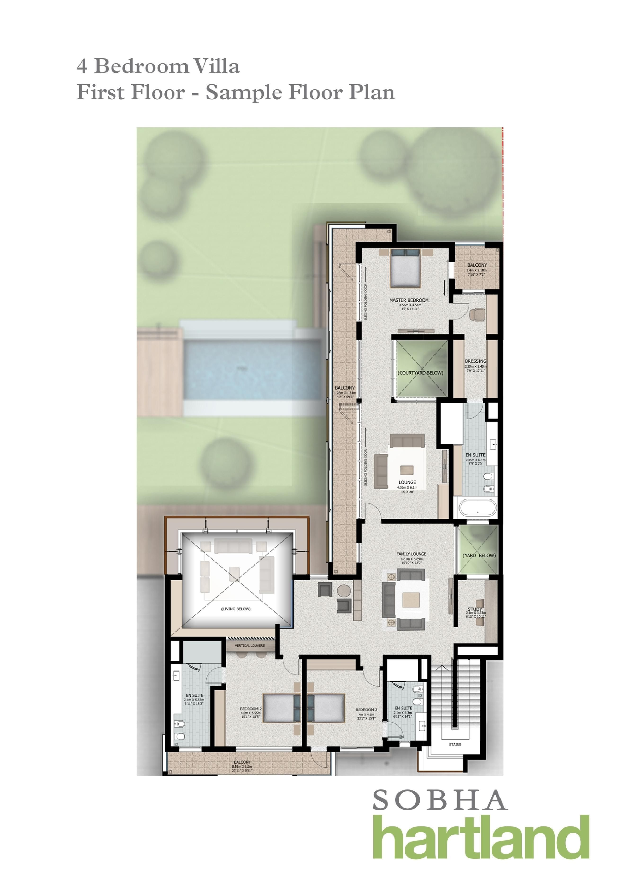 Sobha Hartland Villa Plans Villa Plan Floor Plans Luxury Homes Dream Houses