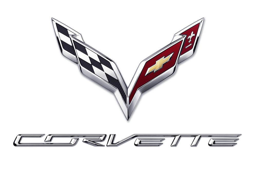 Chevy Corvette Stingray C7 Logo Emblem T-Shirt  New
