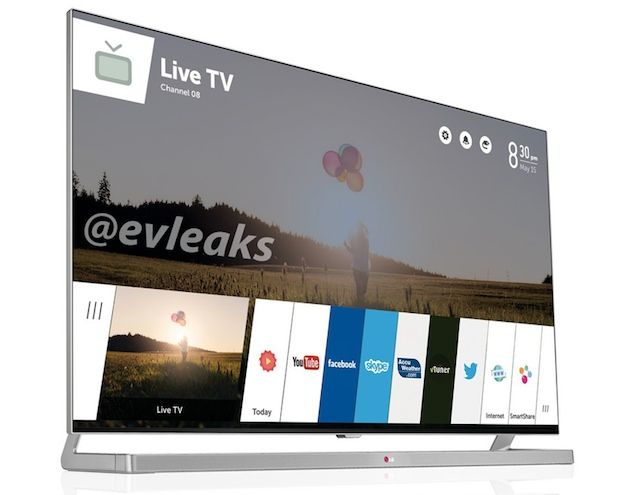 Leak Shows Lg S Radical New Interface For Its Webos Smart Tvs Smart Tv Tv Social Tv