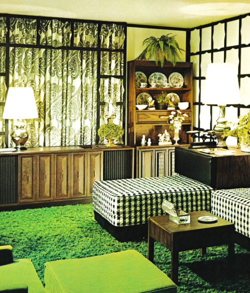 Living Room Decor 1970s Suburban But With Mod Color And Mcm Feel To It Weird Retro Home Decor 70s Home Decor Retro Home