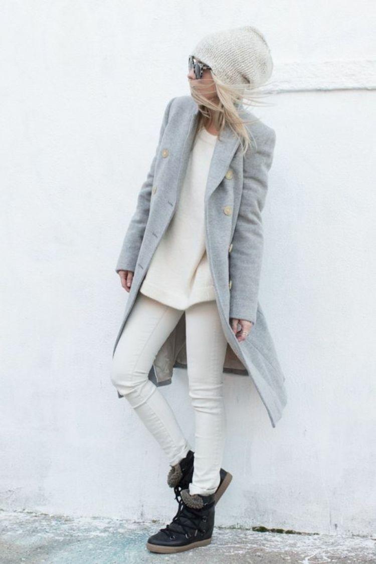 Damen Mantel GrauModeOutfit Genial Ideen Und bY7gy6vf