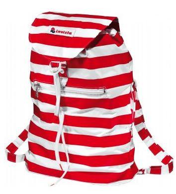 informazioni per b0c8f d8450 vintage-style rows Invicta backpack zainetto a righe Invicta ...
