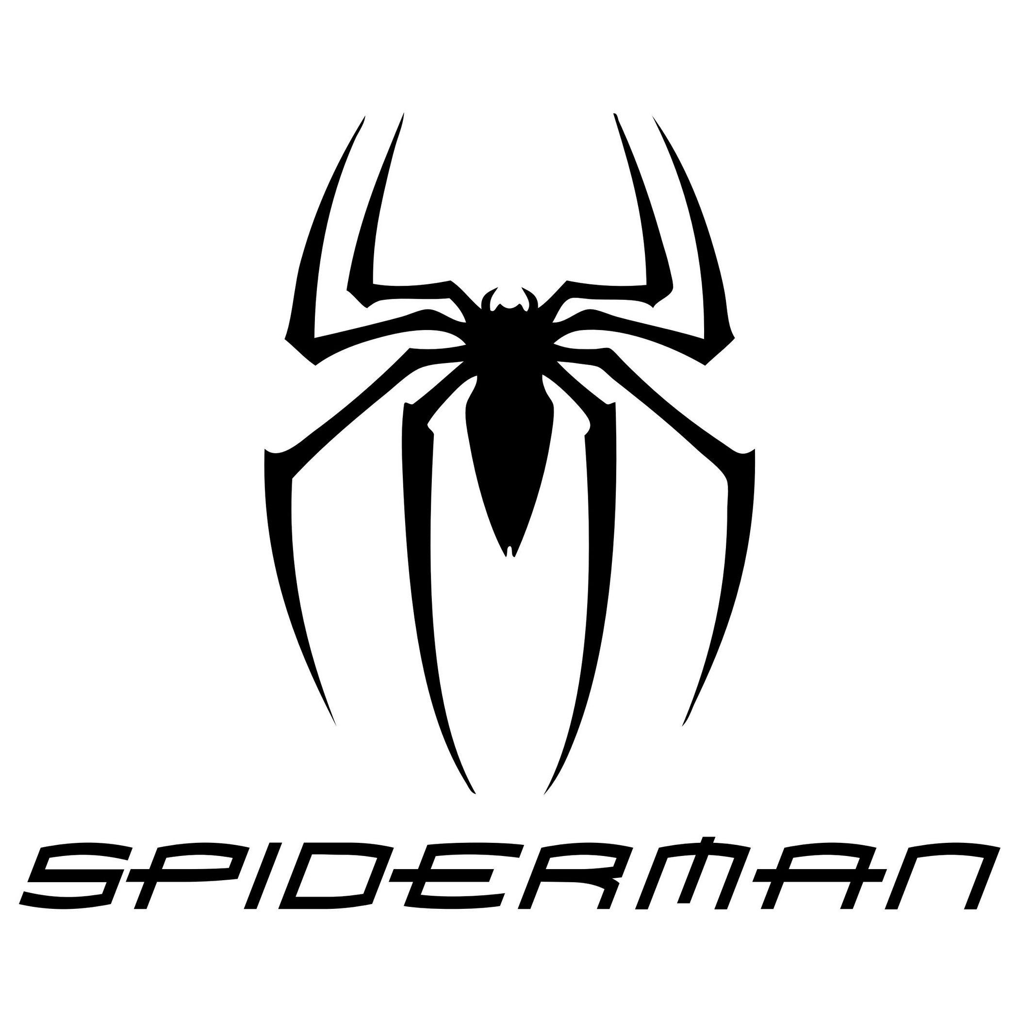 1 views decal silhouette logos prints pinterest spiderman rh pinterest com au spider man 4 spider logo spiderman back spider logo