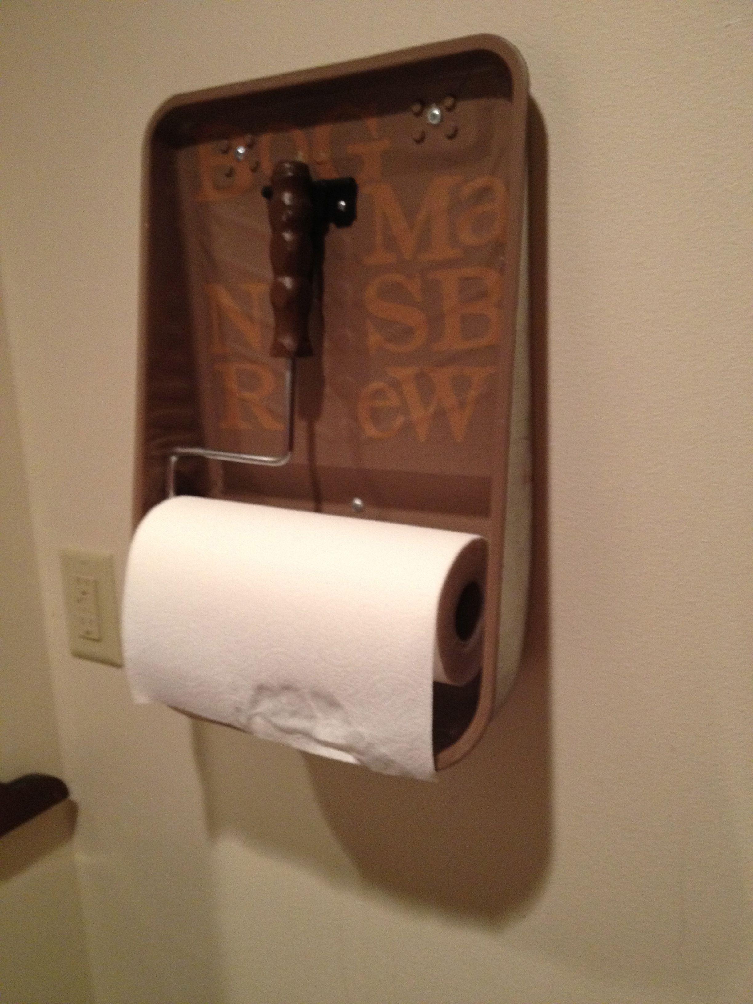 home towel designs shelf bathroom paper l with holder