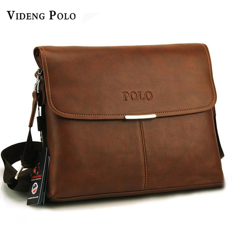 2017 New Hot Selling brand High Quality PU Leather POLO Men Messenger Bags  Crossbody Bags small Men s Travel shoulder Bags 8d3b926a6e