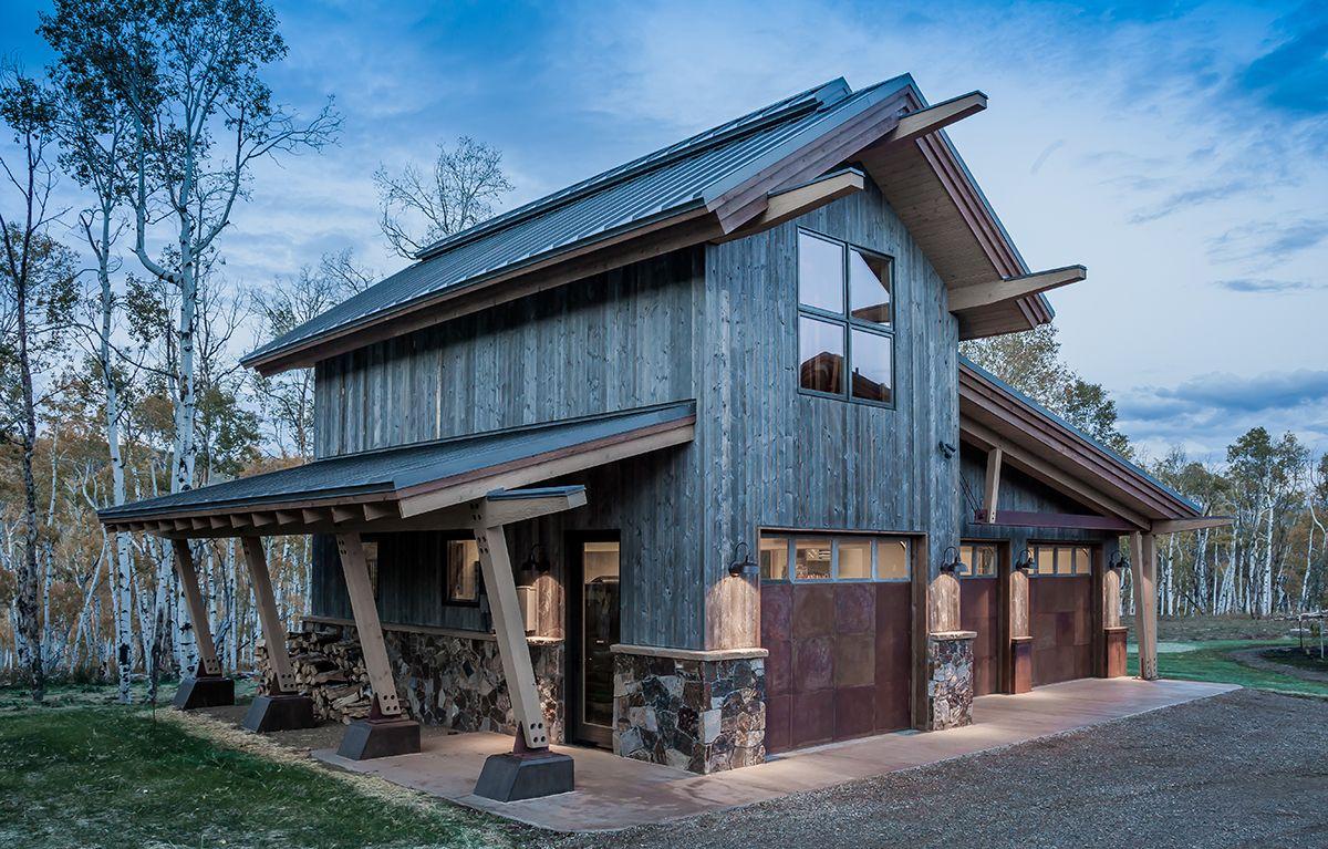 North Routt Retreat Garage | Logs Homes | Pinterest | Photo ...