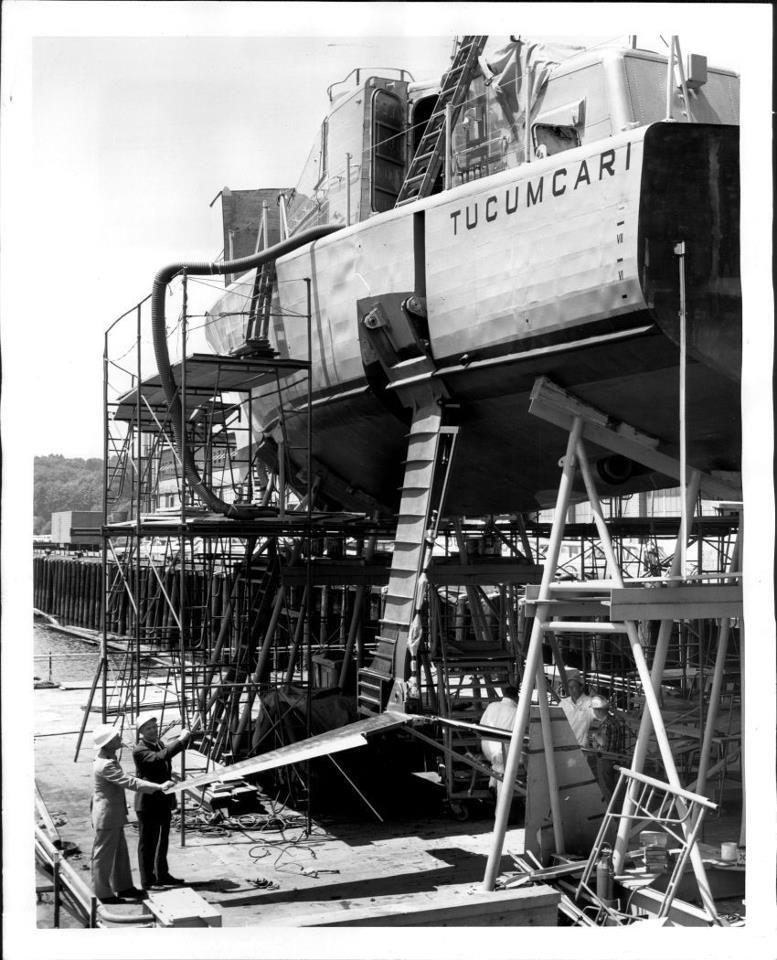 USS Tucumcari hydrofoil, named after Tucumcari, New Mexico