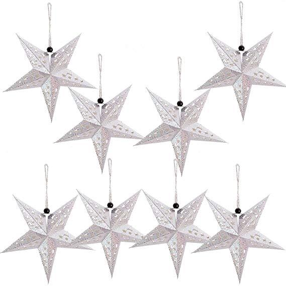 Amazon Com Paper Star Lantern Lampshade Hanging Christmas Xmas