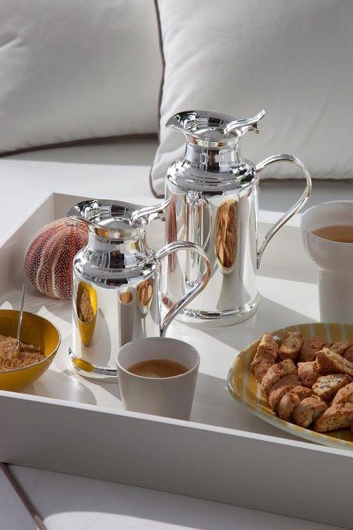 Chez Zizi Christofle Breakfast Tray Breakfast In Bed