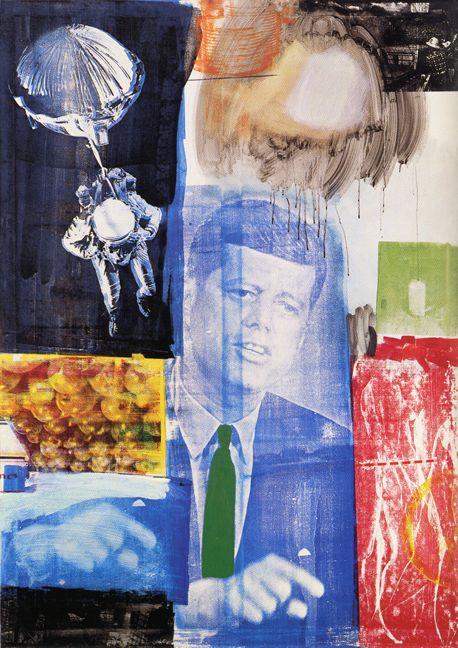 Robert Rauschenberg - Retroactive, 1964