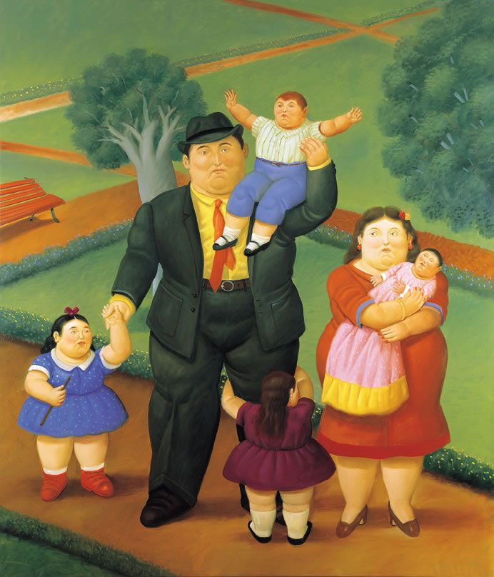 Fernando Botero | Fernando botero, Art de rue, Peinture figurative