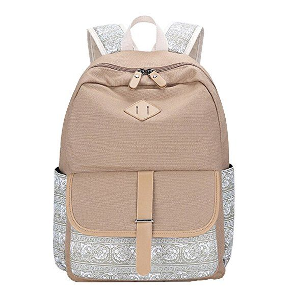 mingtai schulrucksack vintage canvas rucksack schultasche. Black Bedroom Furniture Sets. Home Design Ideas