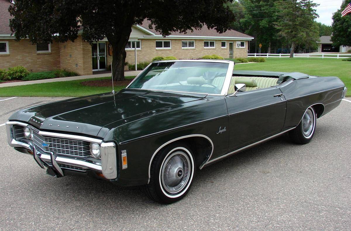 1969 chevrolet impala convertible chevrolet 1967 1969. Black Bedroom Furniture Sets. Home Design Ideas