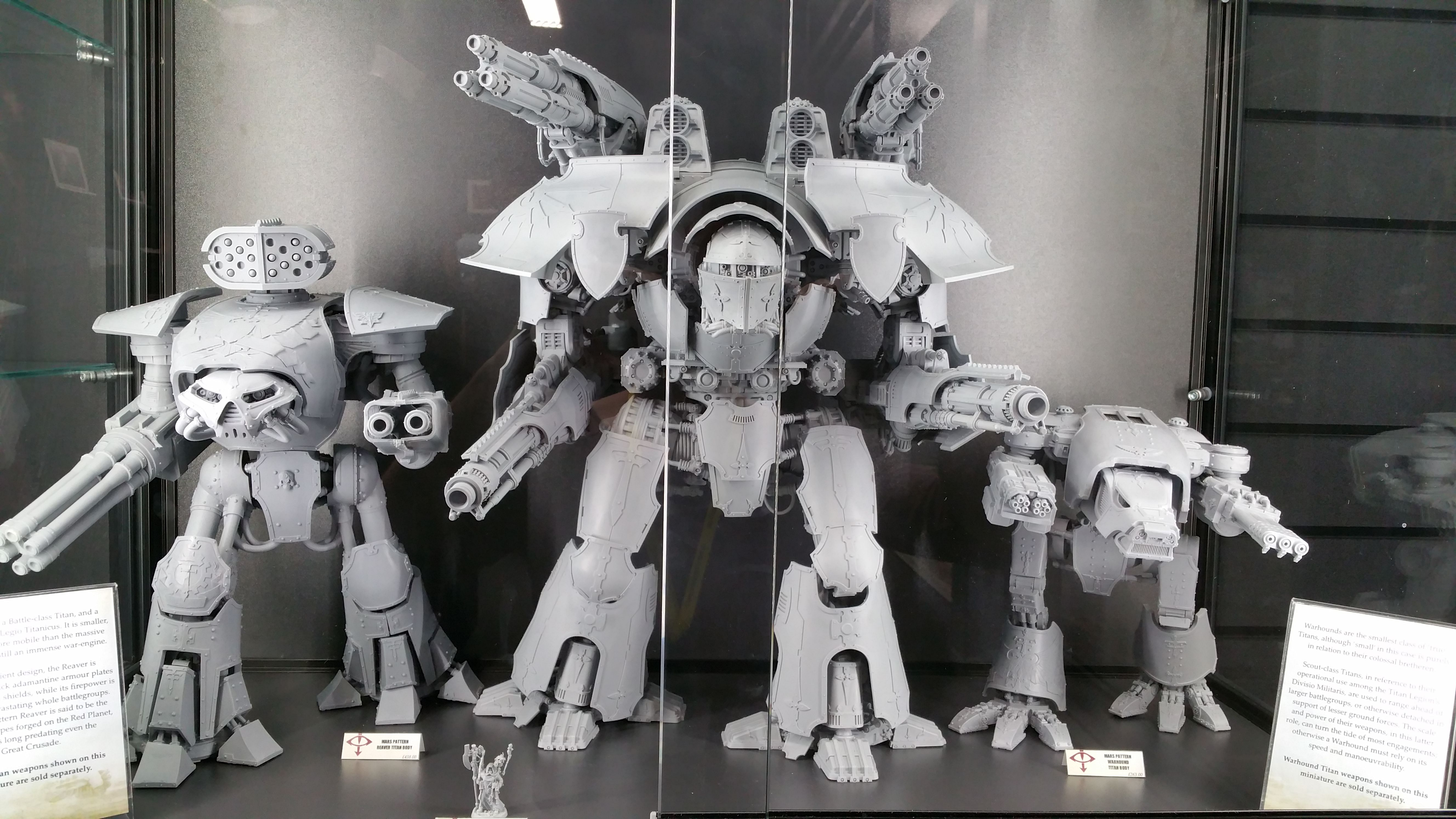 Warlord titan size! | 40k Knights and Titans | Imperial