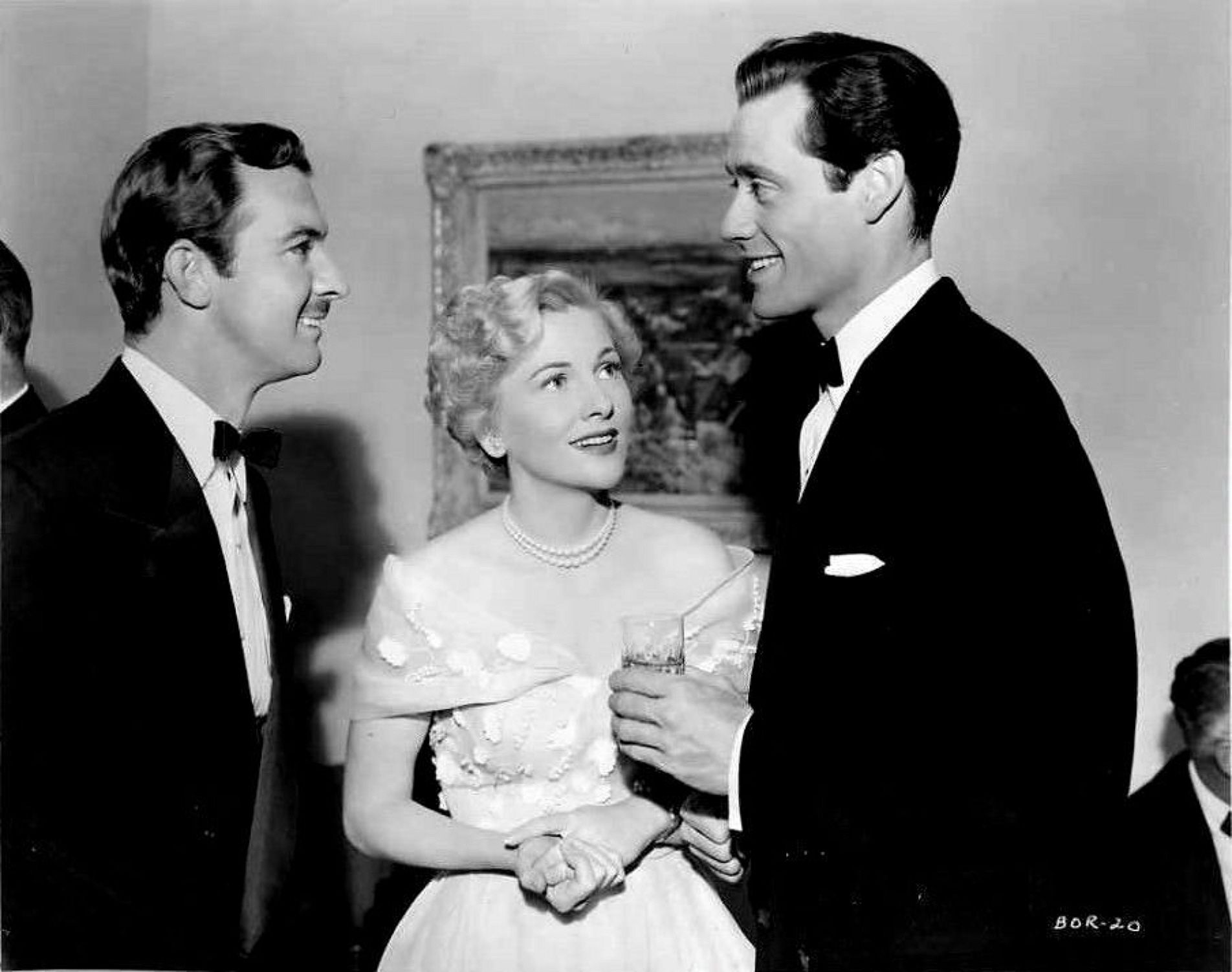 Zachary Taylor, Joan Fontaine and Mel Ferrer BORN TO BE