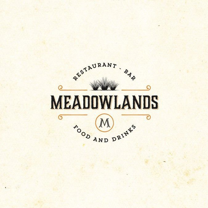 Meadowlands Restaurant Needs A Rustic Country Logo With Dash Of Modern By Keyshod