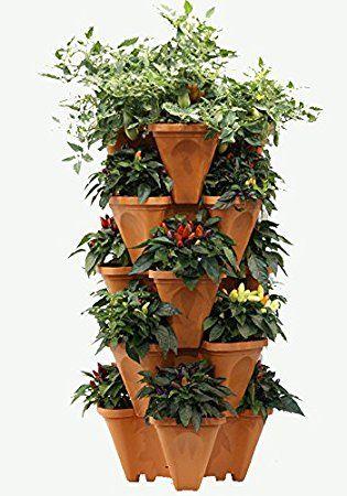 Vertical Planter Diy Vertical Garden Diy Stackable 400 x 300
