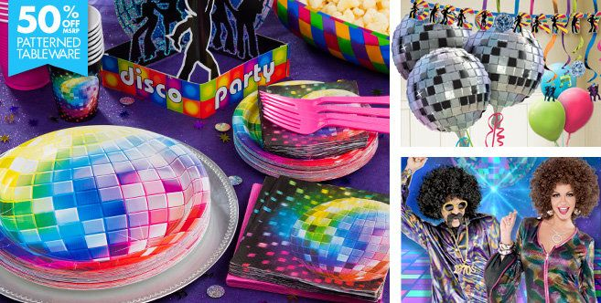 Disco Party Supplies - Disco Fever Theme - Party City ...