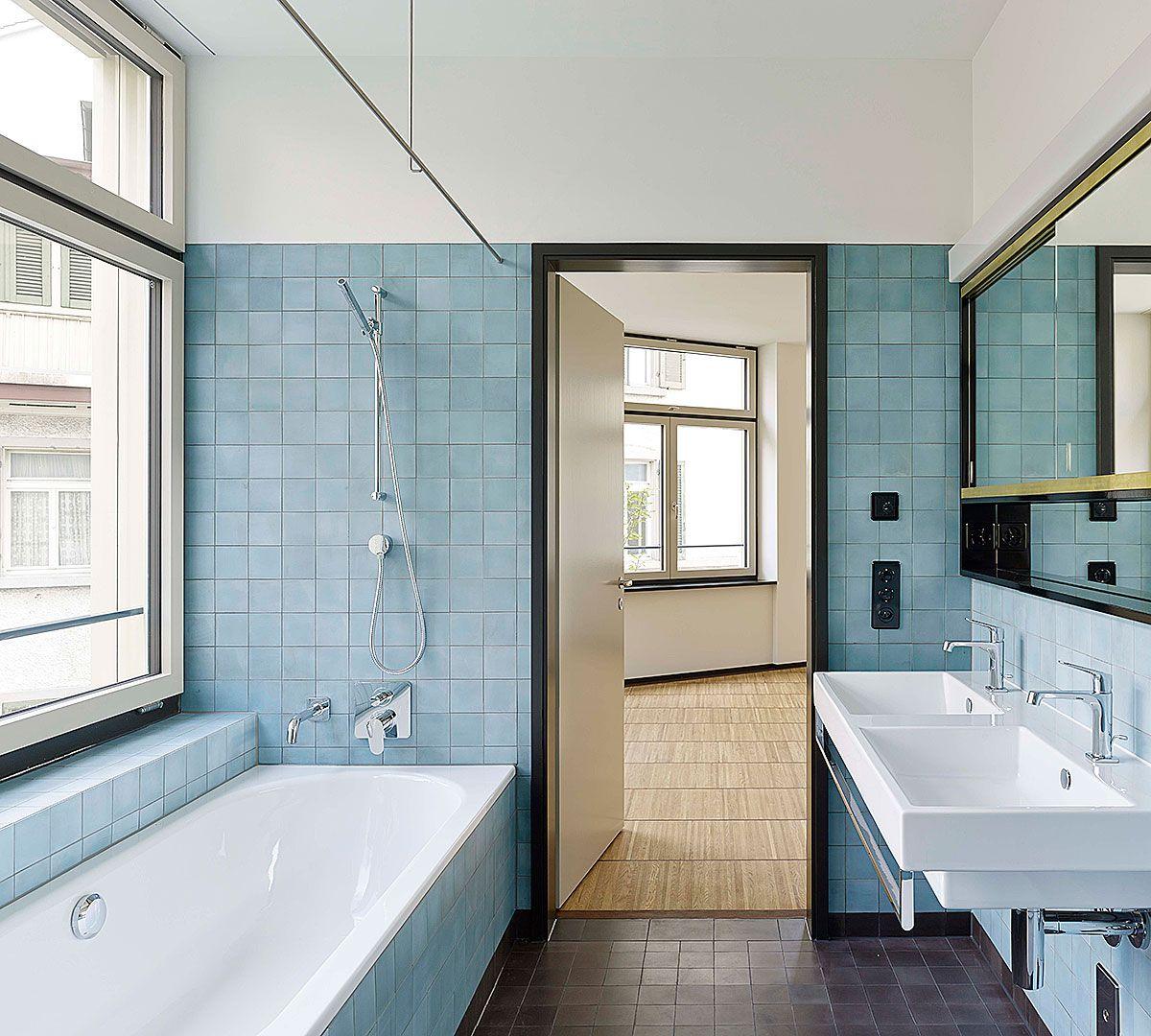 Hohes Haus West, Zürich | Loeliger Strub Architektur. Badezimmer ...