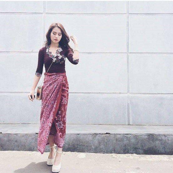 Gambar Model Kebaya Modern Untuk Remaja Style Inspiration Di 2019
