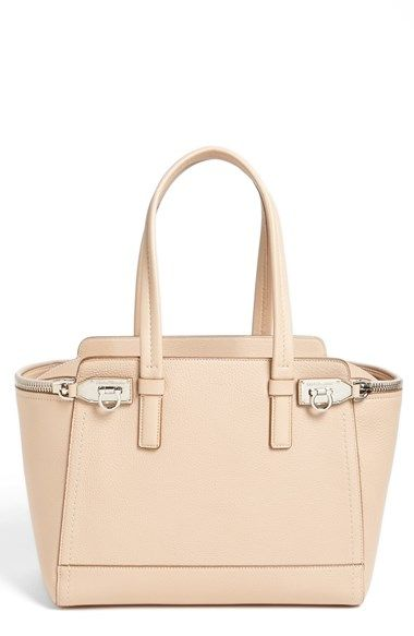 3682b827263d Salvatore Ferragamo  Sookie - Small  Leather Satchel available at Nordstrom