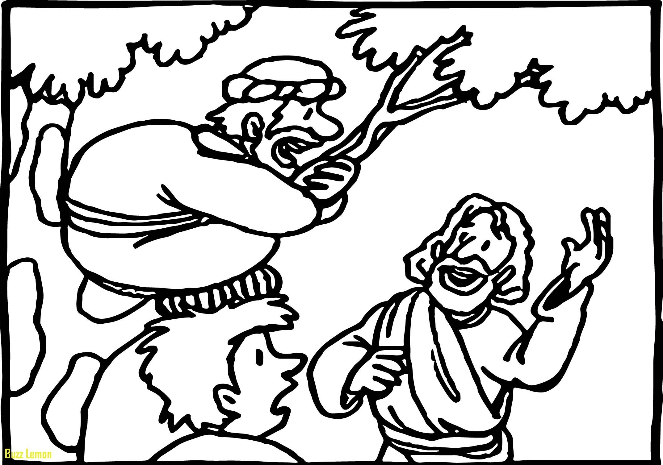 Bible Coloring Pages Zacchaeus In Tree Collection [ 1507 x 2147 Pixel ]