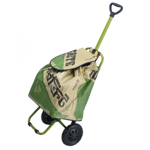 Shopping Trolley with Cement Sack Bag