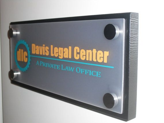 office door sign: professional personalized wood sign gift 10 x