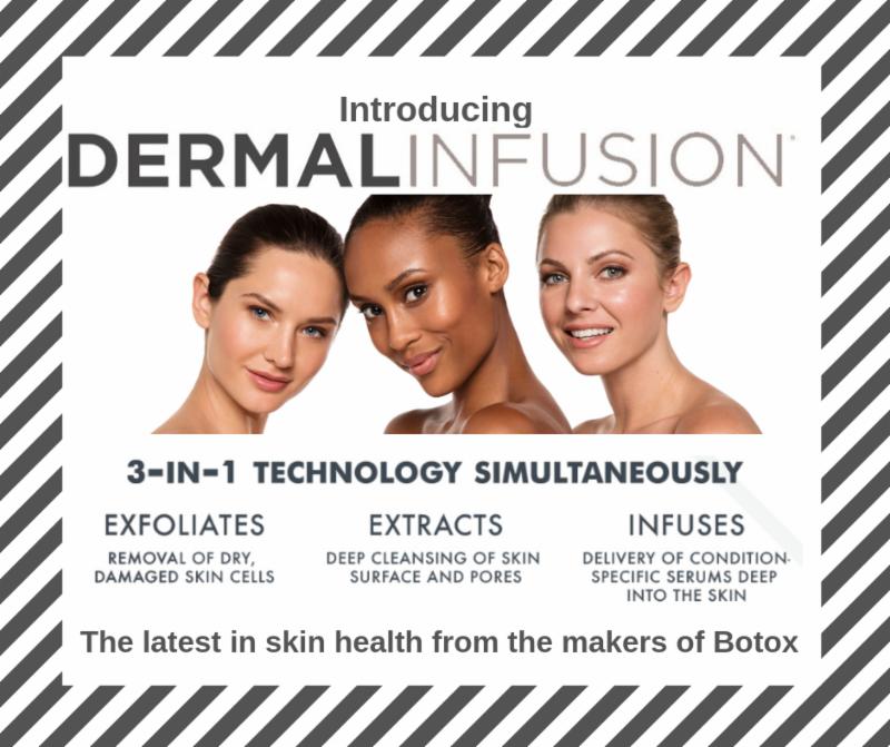 Dermal Infusion Facial In 2020 Dermal Infusion Skin Resurfacing Treatment Skin Resurfacing